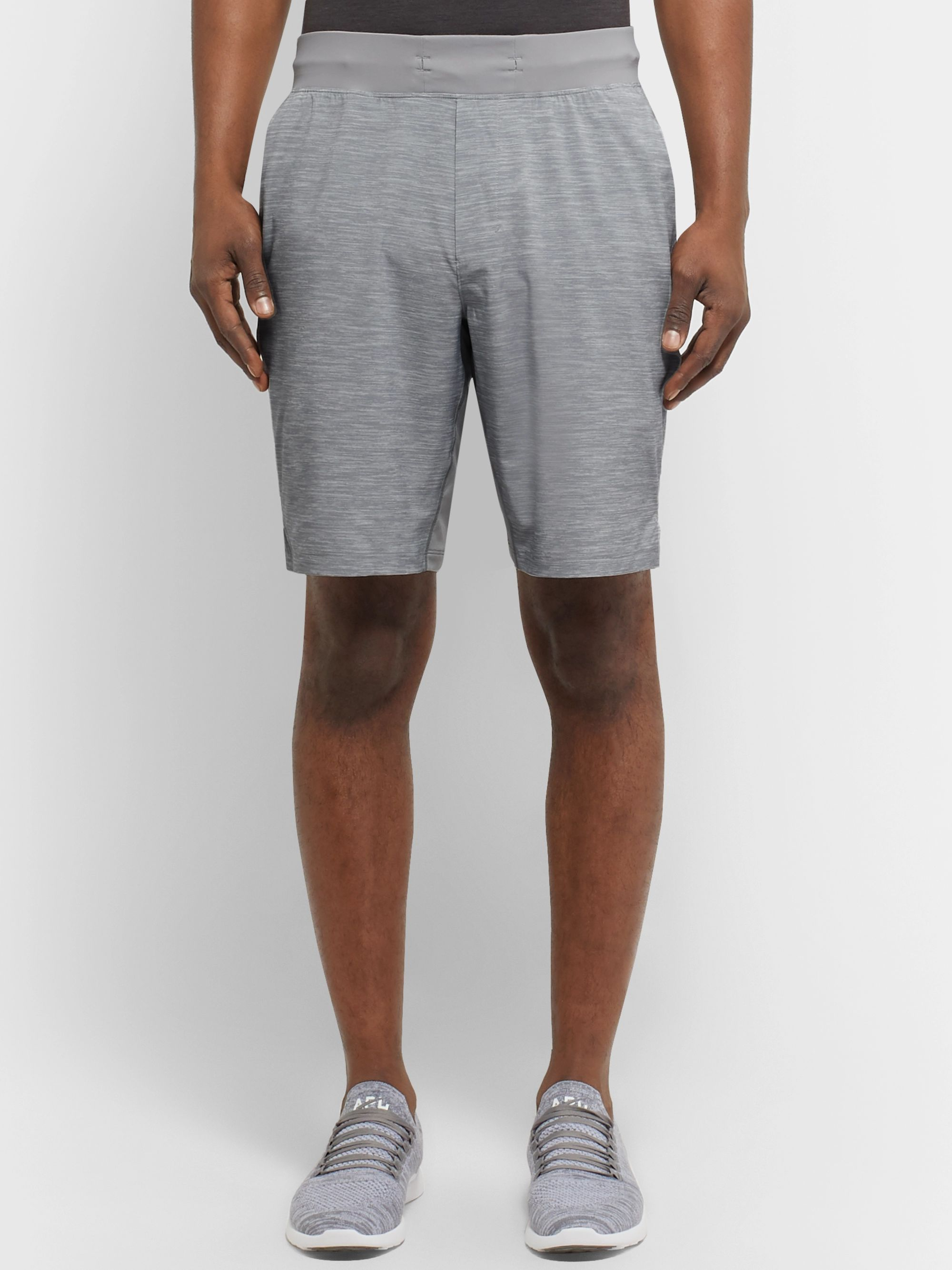 Lululemon T.H.E. Short Mesh-Panelled Space-Dyed Swift Shorts