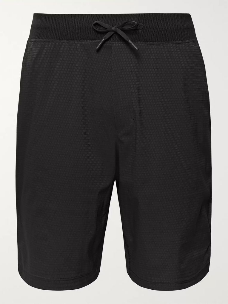 Lululemon T.H.E. Short Textured Stretch-Jersey and Swift Drawstring Shorts