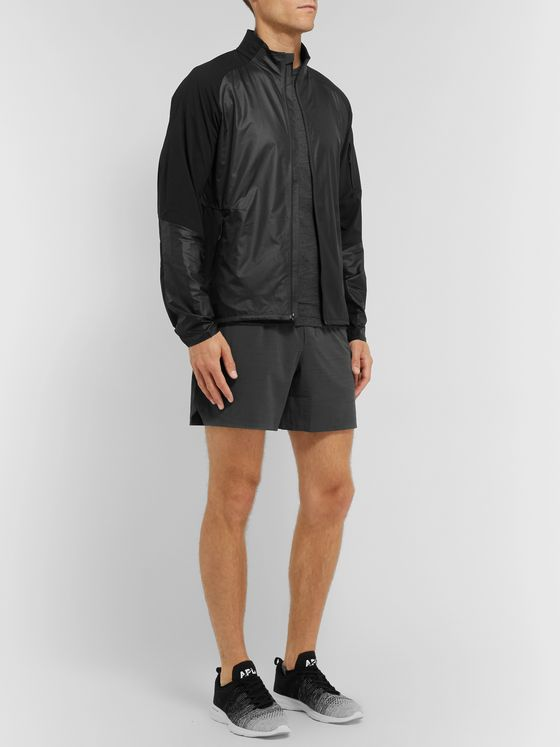 Lululemon Fast and Free Mesh-Panelled Glyde Jacket