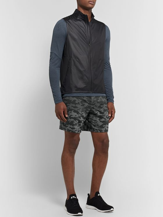 Lululemon Pace Breaker Slim-Fit Camouflage-Print Swift Ultra Shorts