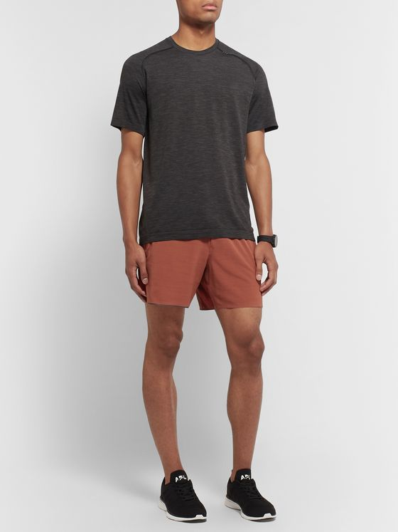 Lululemon Switch Up Mesh-Panelled Stretch-Shell Shorts