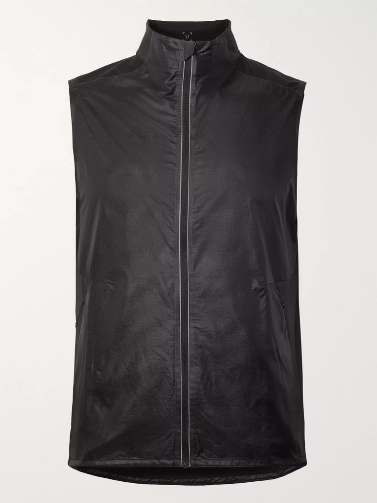 Lululemon Fast and Free Shell and Mesh Gilet