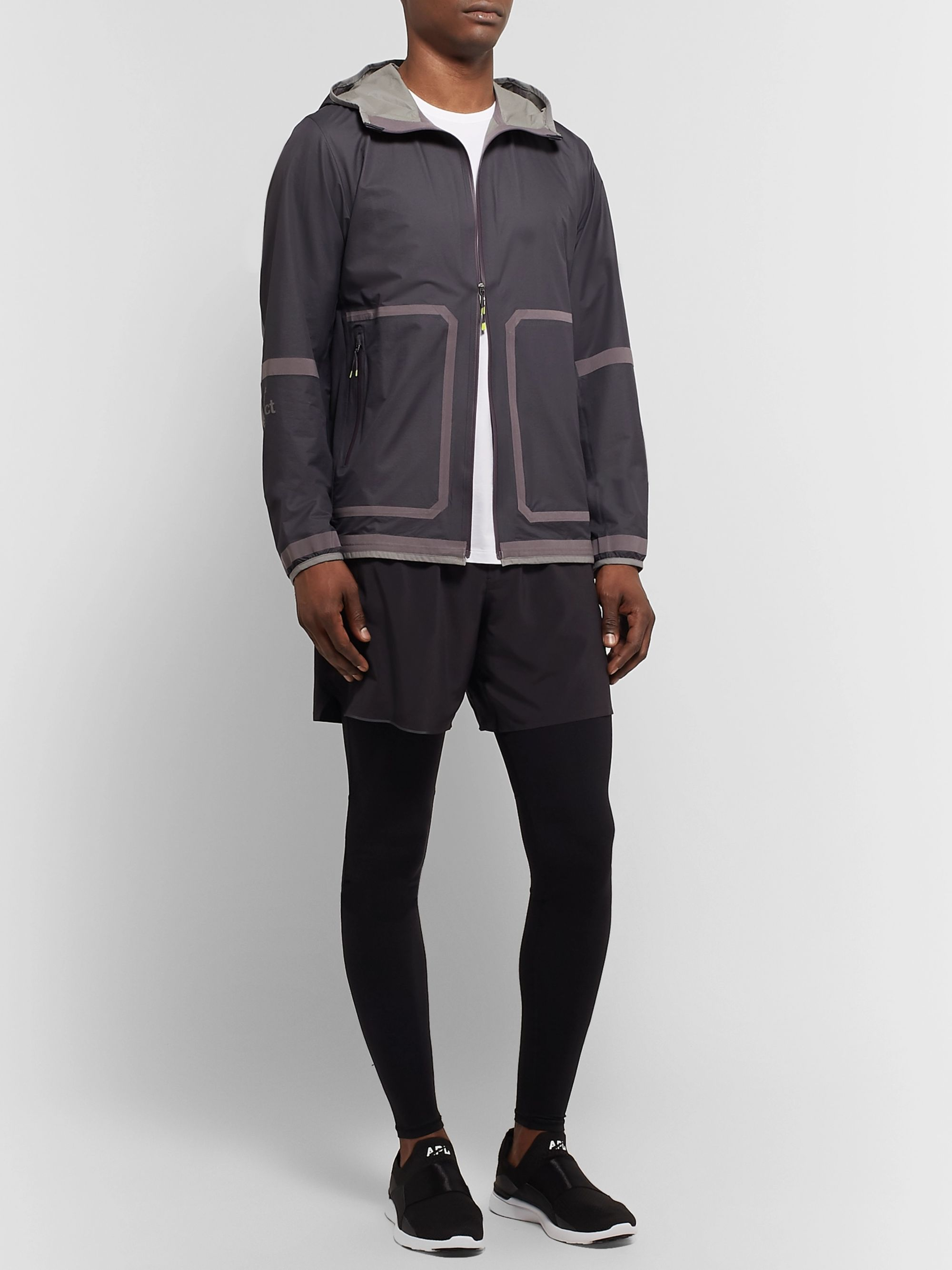 Lululemon + Robert Geller Take the Moment Glyde Hooded Jacket