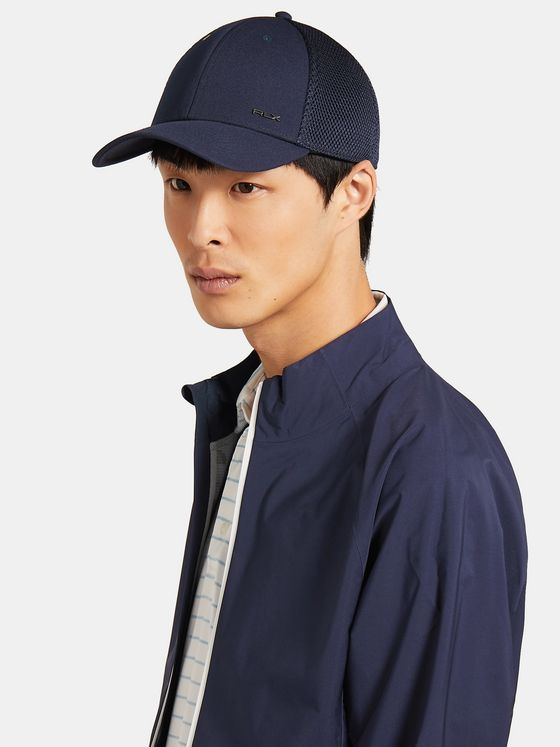 RLX Ralph Lauren Logo-Detailed Flex Fit Golf Cap