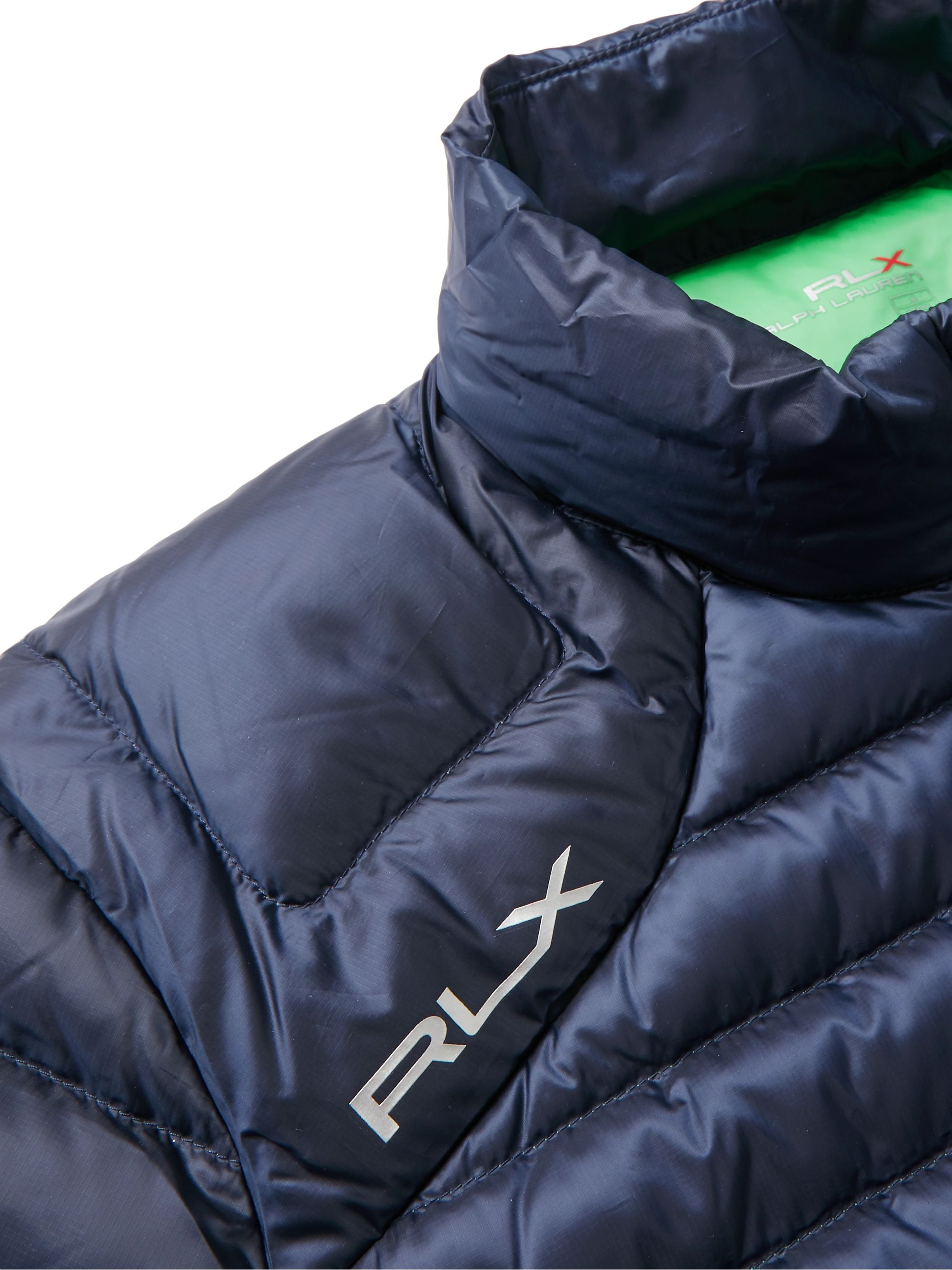 RLX Ralph Lauren Pivot Packable Quilted Shell Down Golf Jacket