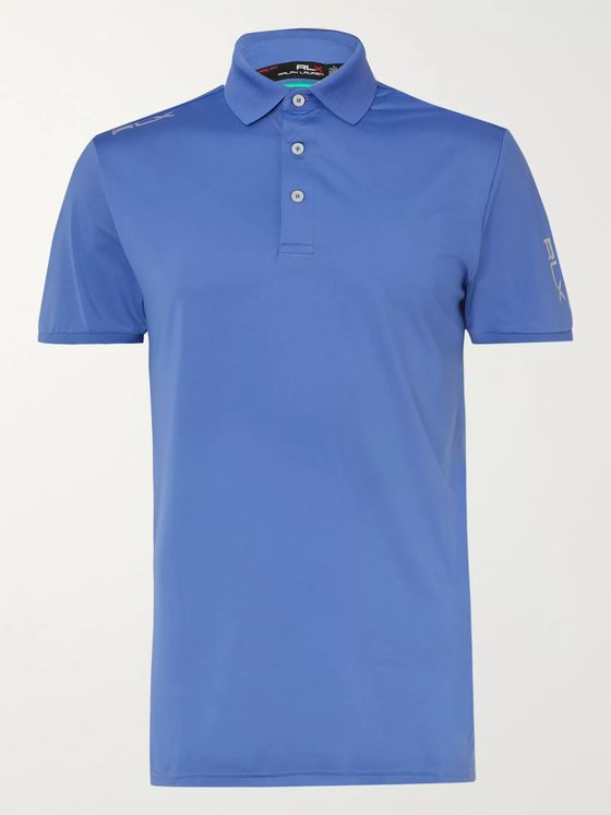 RLX Ralph Lauren Slim-Fit Stretch-Jersey Golf Polo Shirt