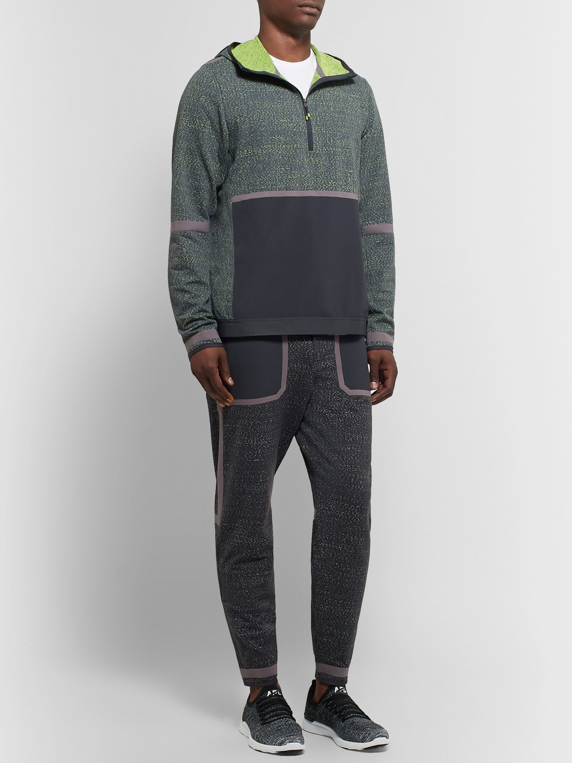 Lululemon + Robert Geller Take the Moment Ripstop and Full-On Luon Half-Zip Top