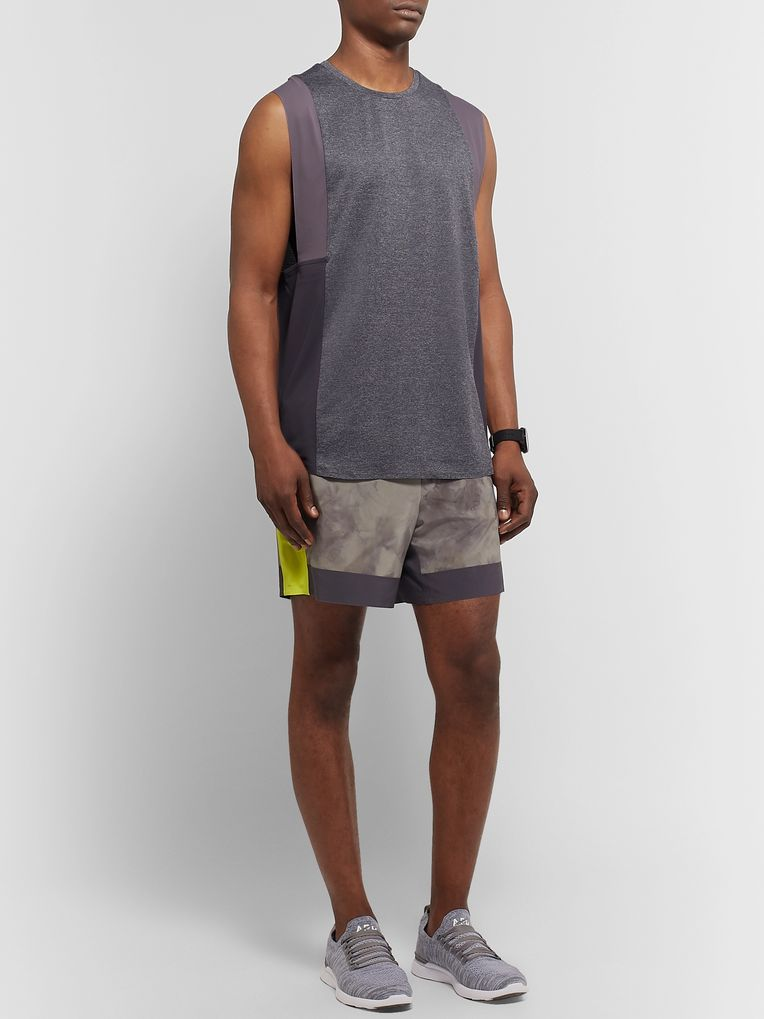 Lululemon + Robert Geller Take the Moment Stretch-Mesh Tank Top