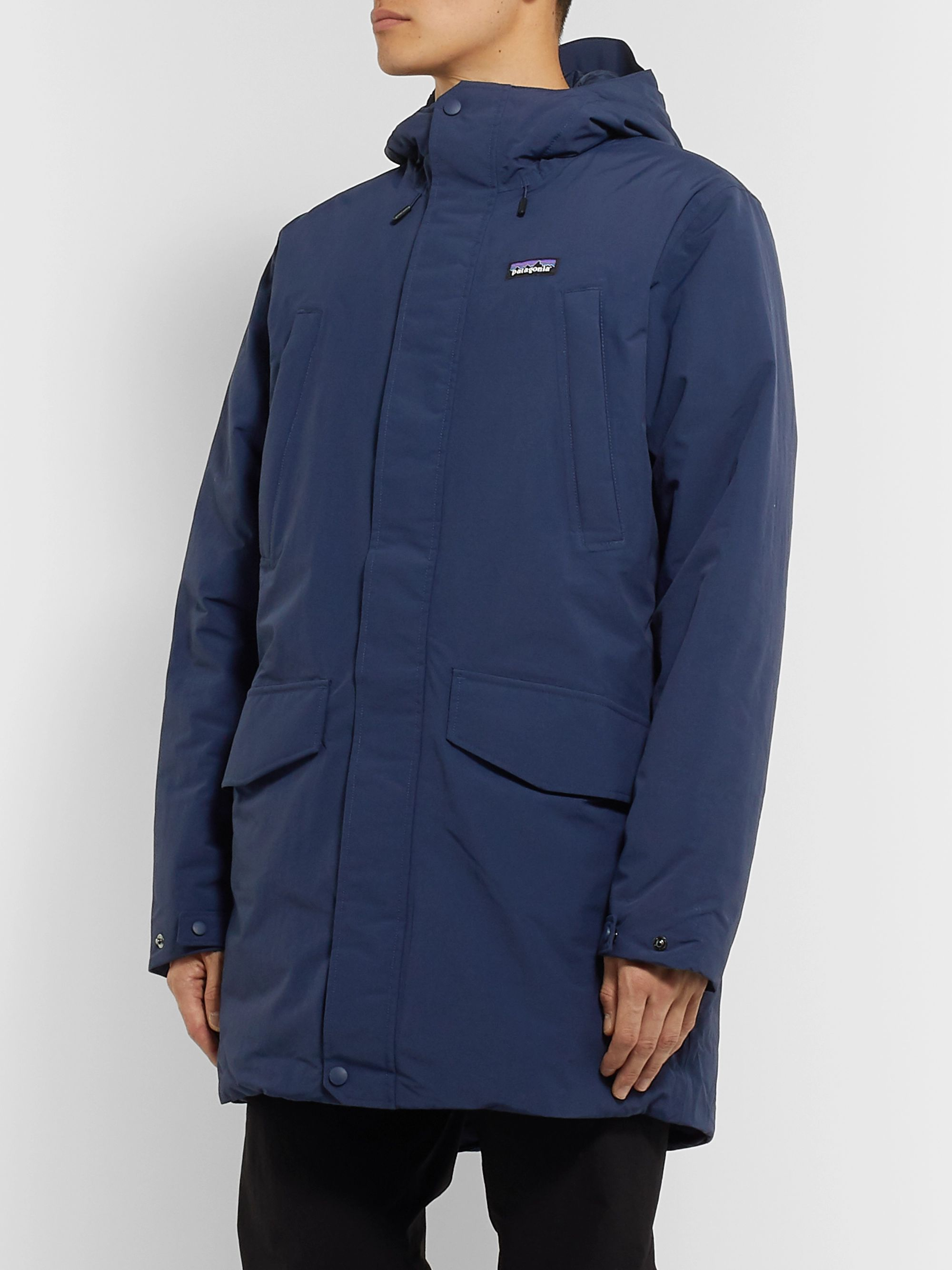 Patagonia City Storm Shell Hooded Down Parka