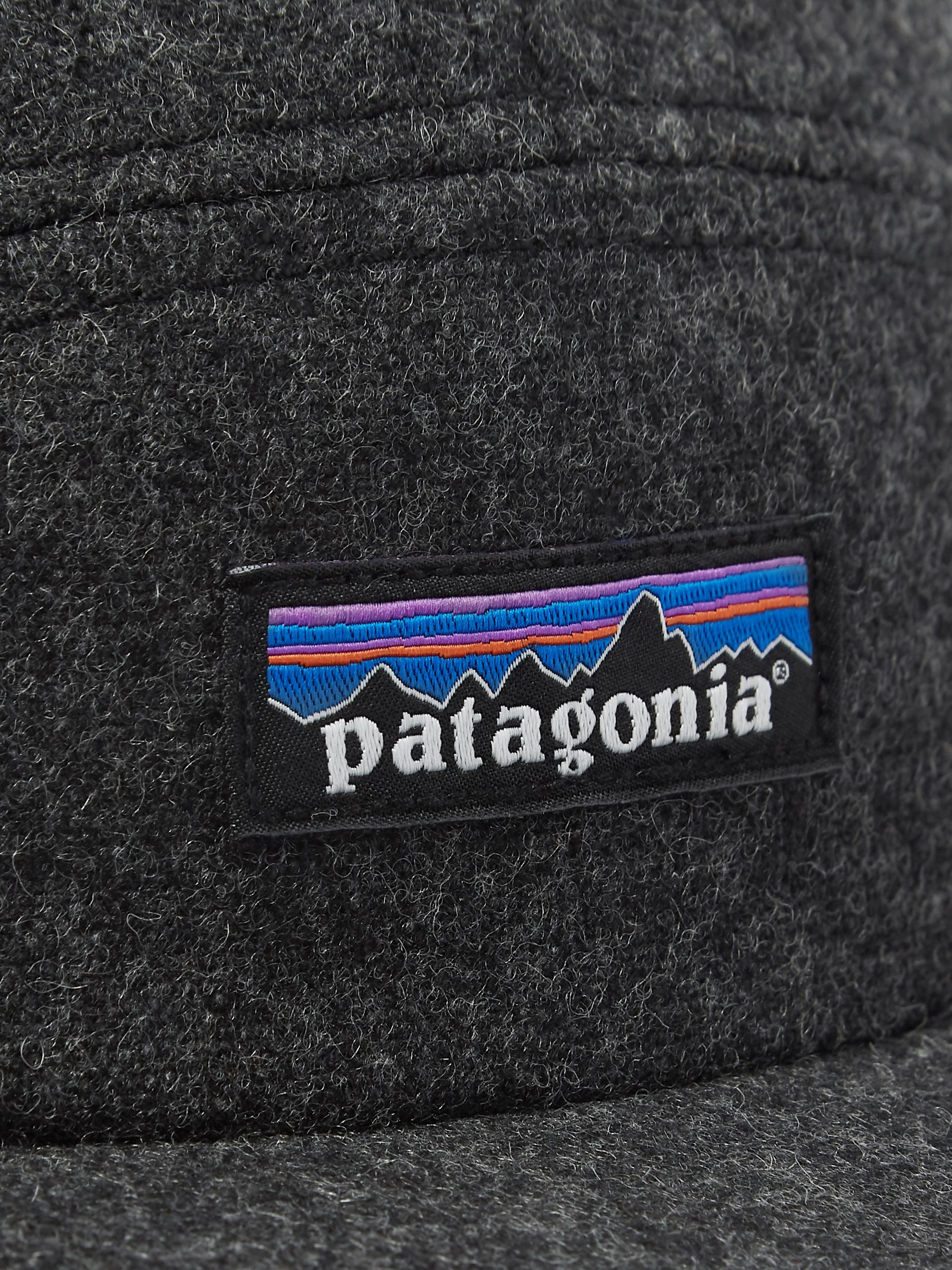 Patagonia Logo-Appliquéd Recycled Wool-Blend Cap