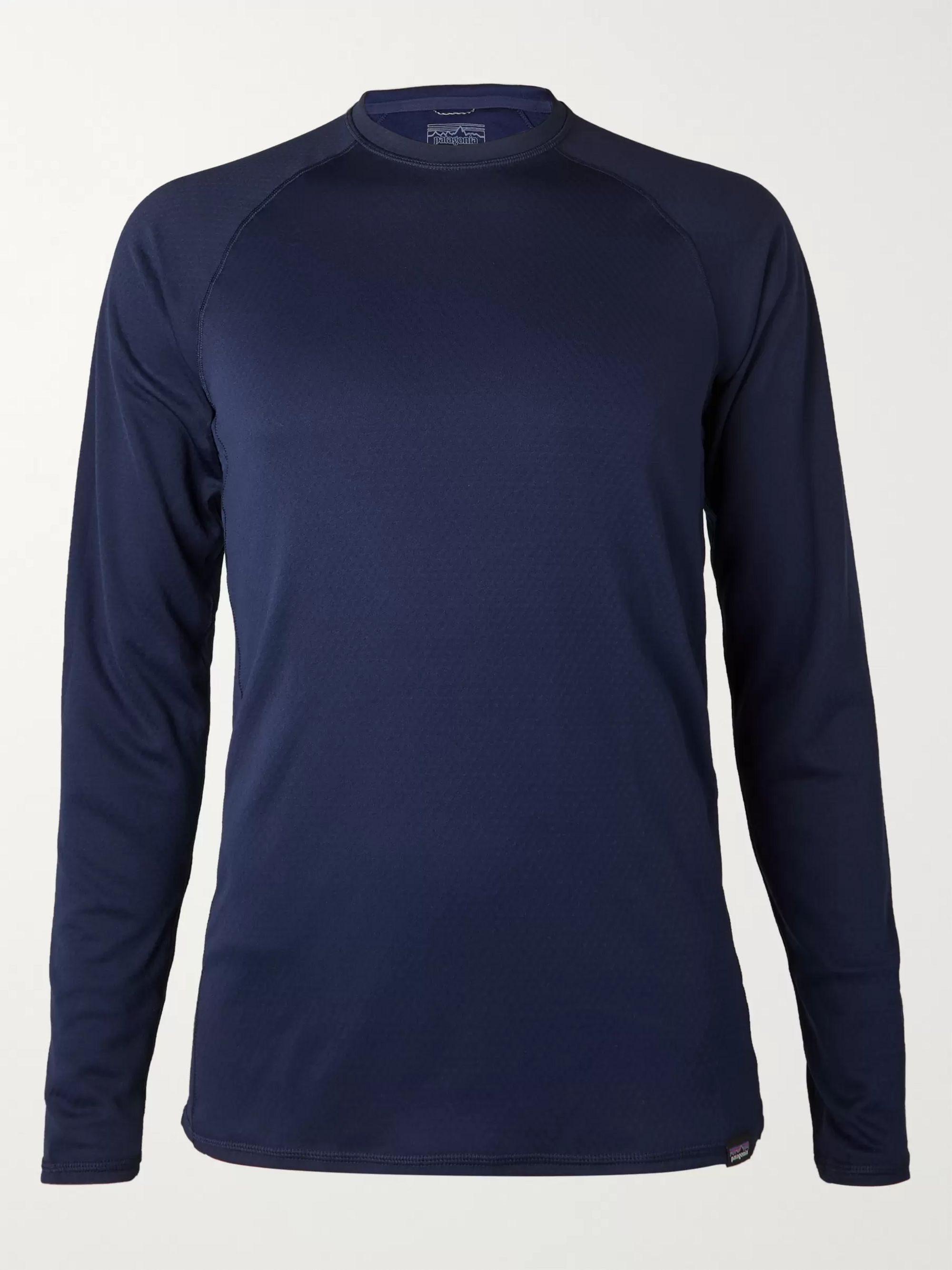 Patagonia Capilene Slim-Fit Fleece-Back Jersey T-Shirt