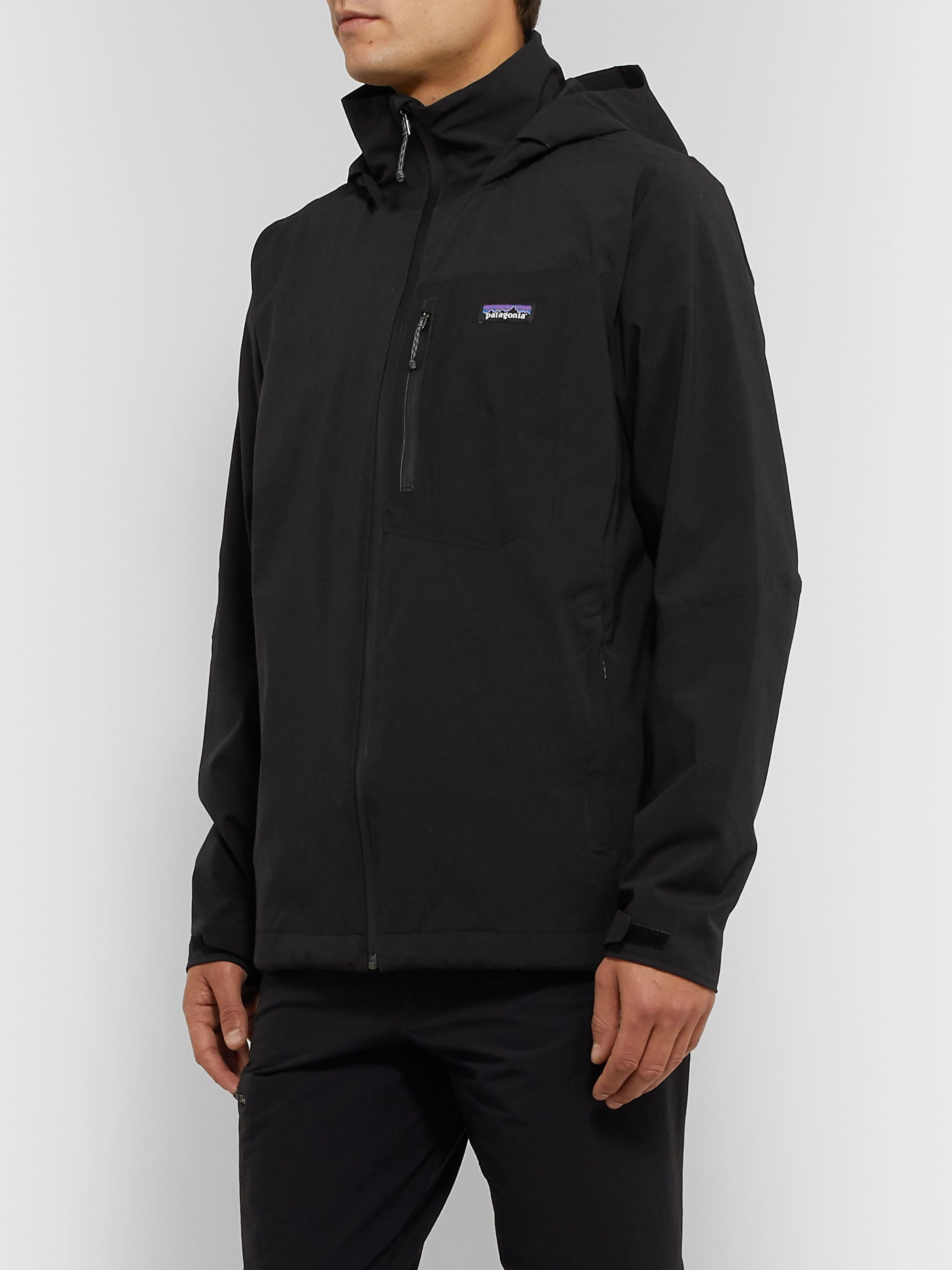 Patagonia Quandary Waterproof Shell Hooded Jacket