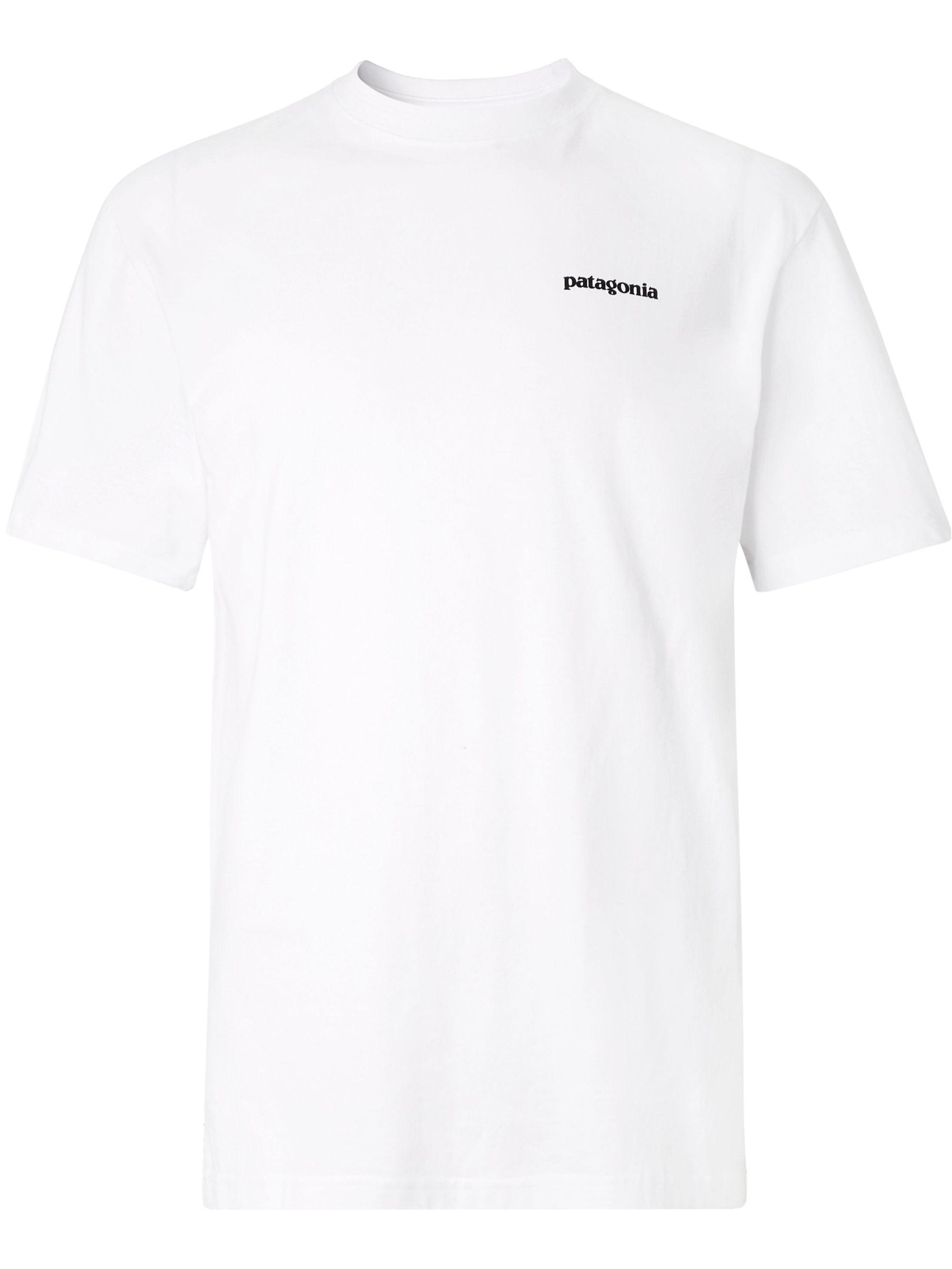 P 6 Logo Responsibili Tee Printed Cotton Blend Jersey T Shirt