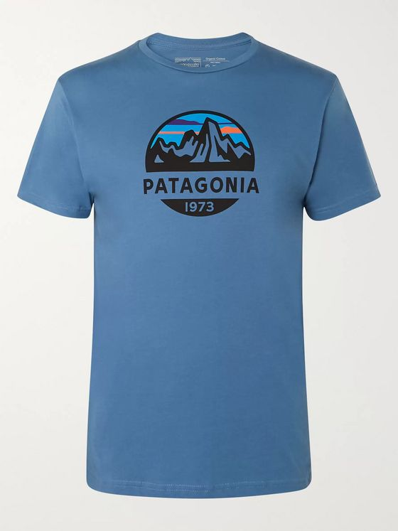 Patagonia Fitz Roy Scope Logo-Print Organic Cotton-Jersey T-Shirt