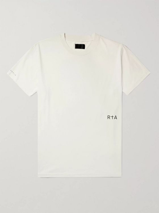 RtA 25 Printed Cotton-Jersey T-Shirt
