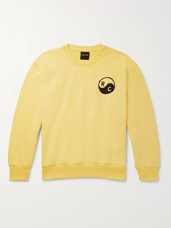 Resort Corps Printed Loopback Cotton-Jersey Sweatshirt