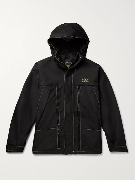 Resort Corps Exoskeleton Canvas Hooded Jacket
