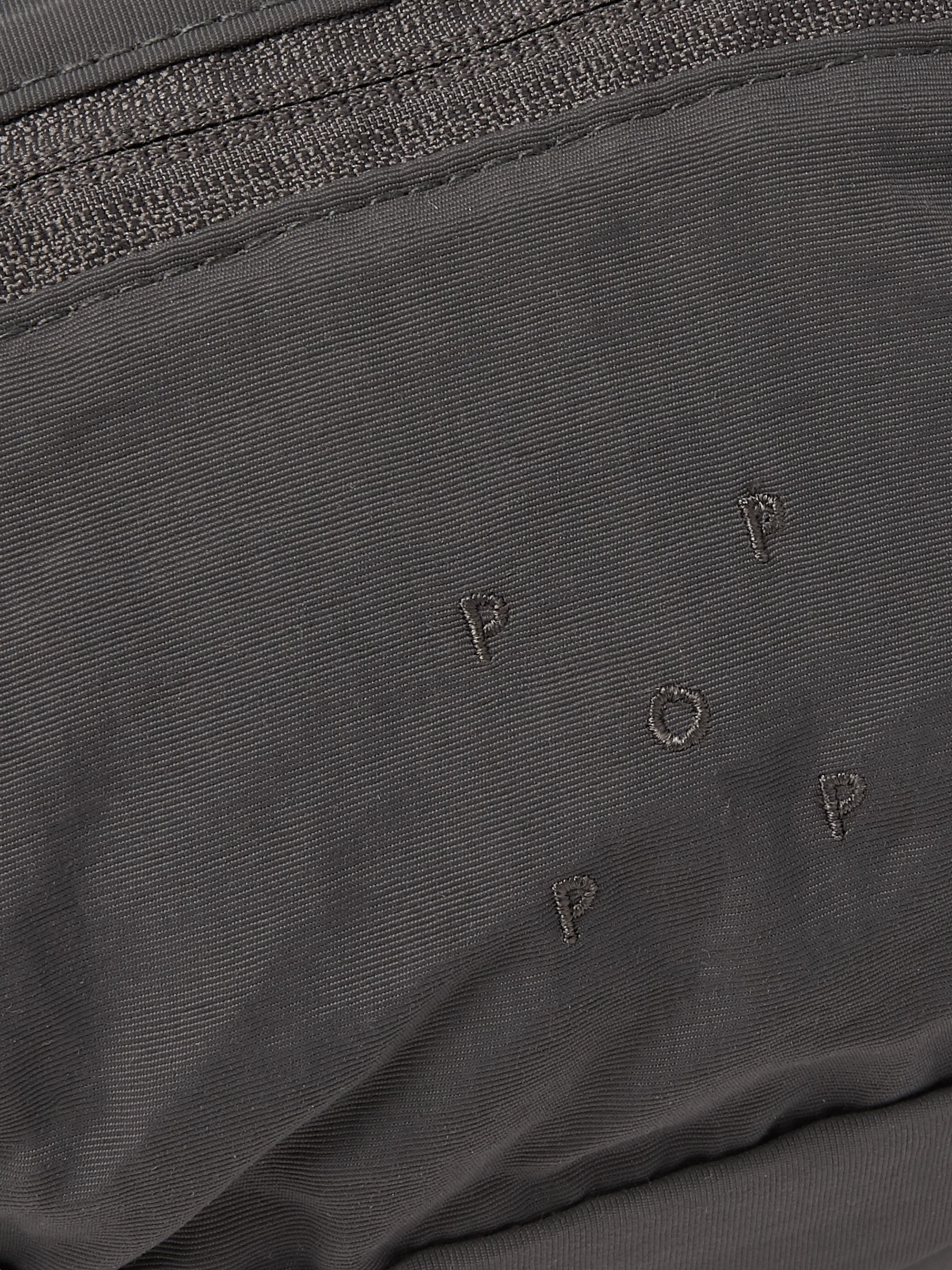 Pop Trading Company Logo-Embroidered Shell Belt Bag