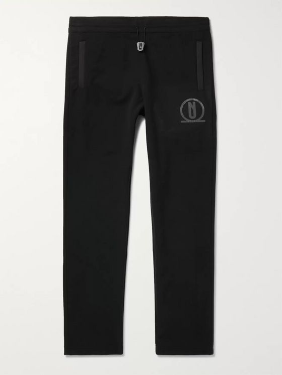 AFFIX Logo-Print Polar Fleece Trousers