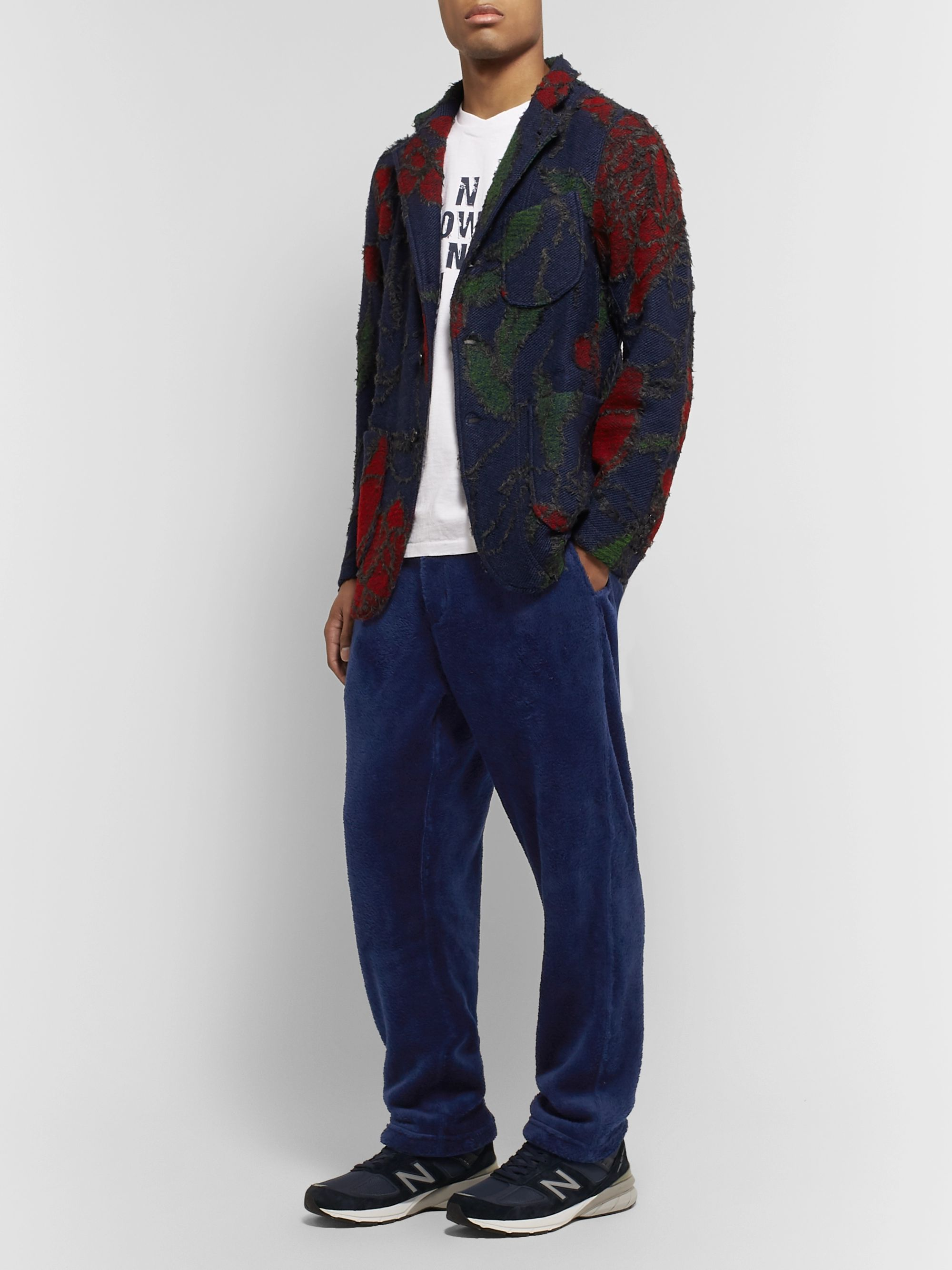 Engineered Garments Tapered Fleece Trousers