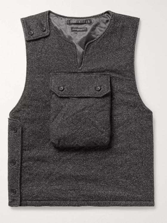 Engineered Garments Mélange Wool-Blend Gilet