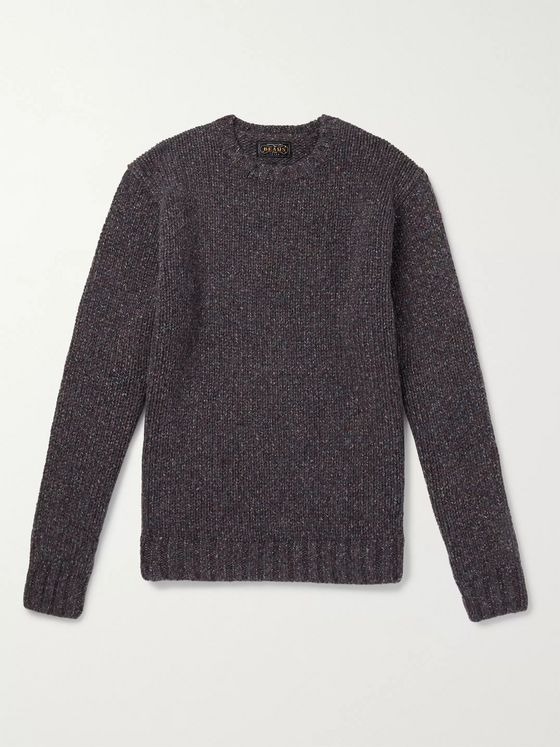 Beams Plus Wool-Blend Sweater