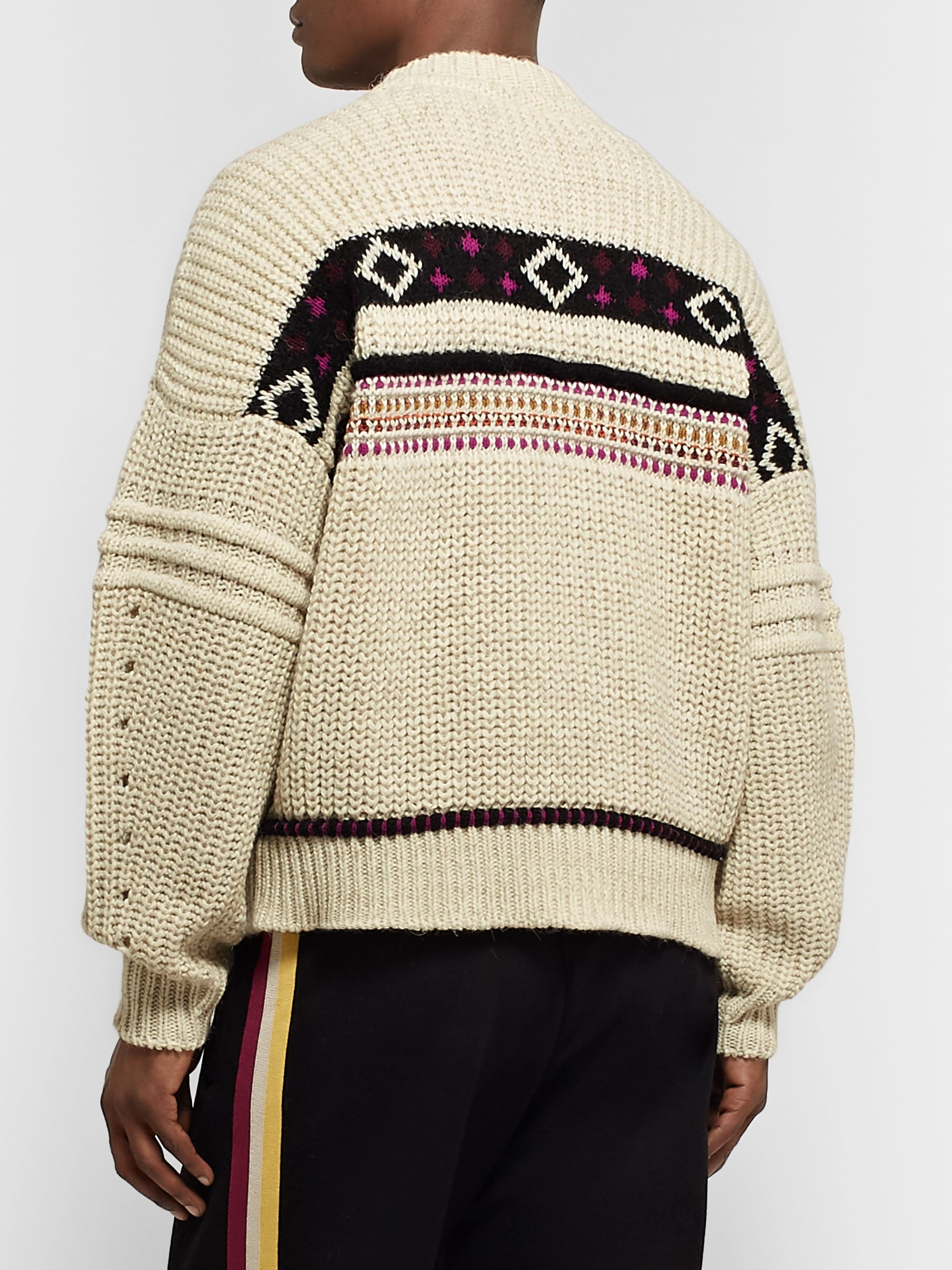 Isabel Marant Cooper Jacquard-Knit Sweater