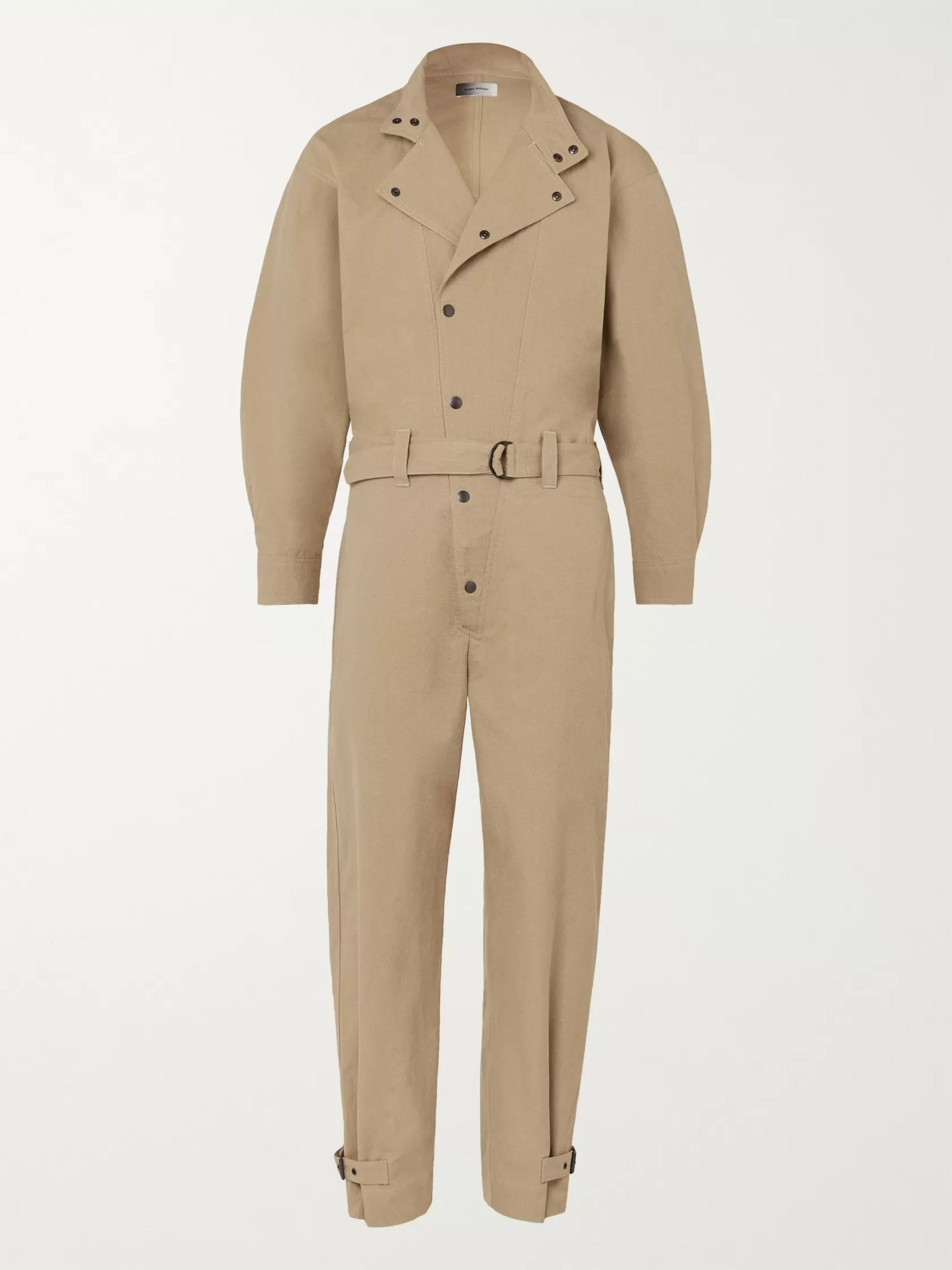Guero Belted Cotton Twill Boilersuit by Isabel Marant