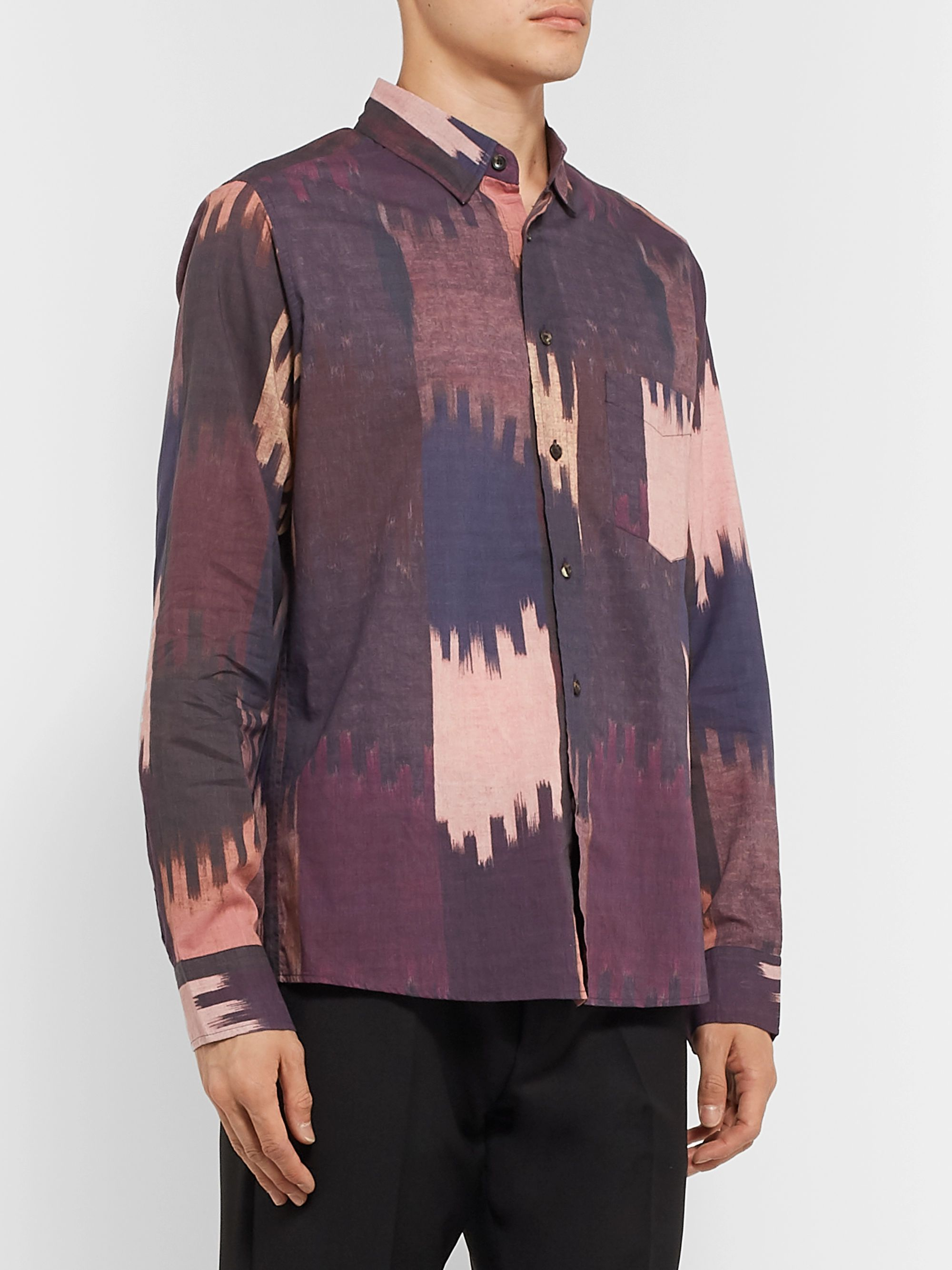 Isabel Marant Printed Cotton-Voile Shirt