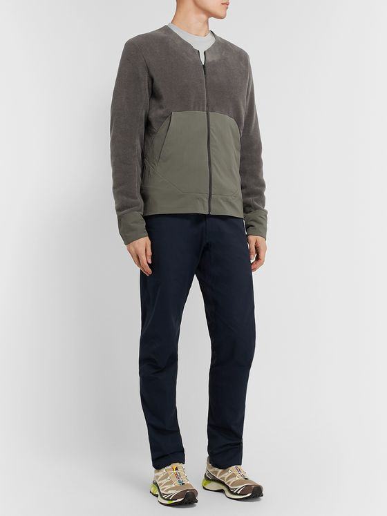 Veilance Dinitz Slim-Fit Fleece and Shell Jacket