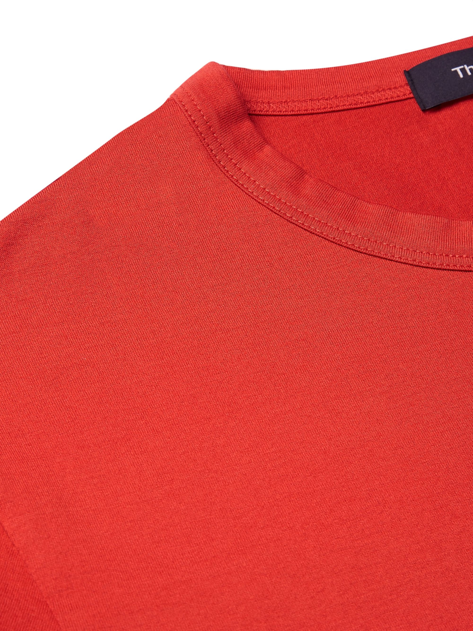 Theory Essential Dip-Dyed Pima Cotton-Jersey T-Shirt