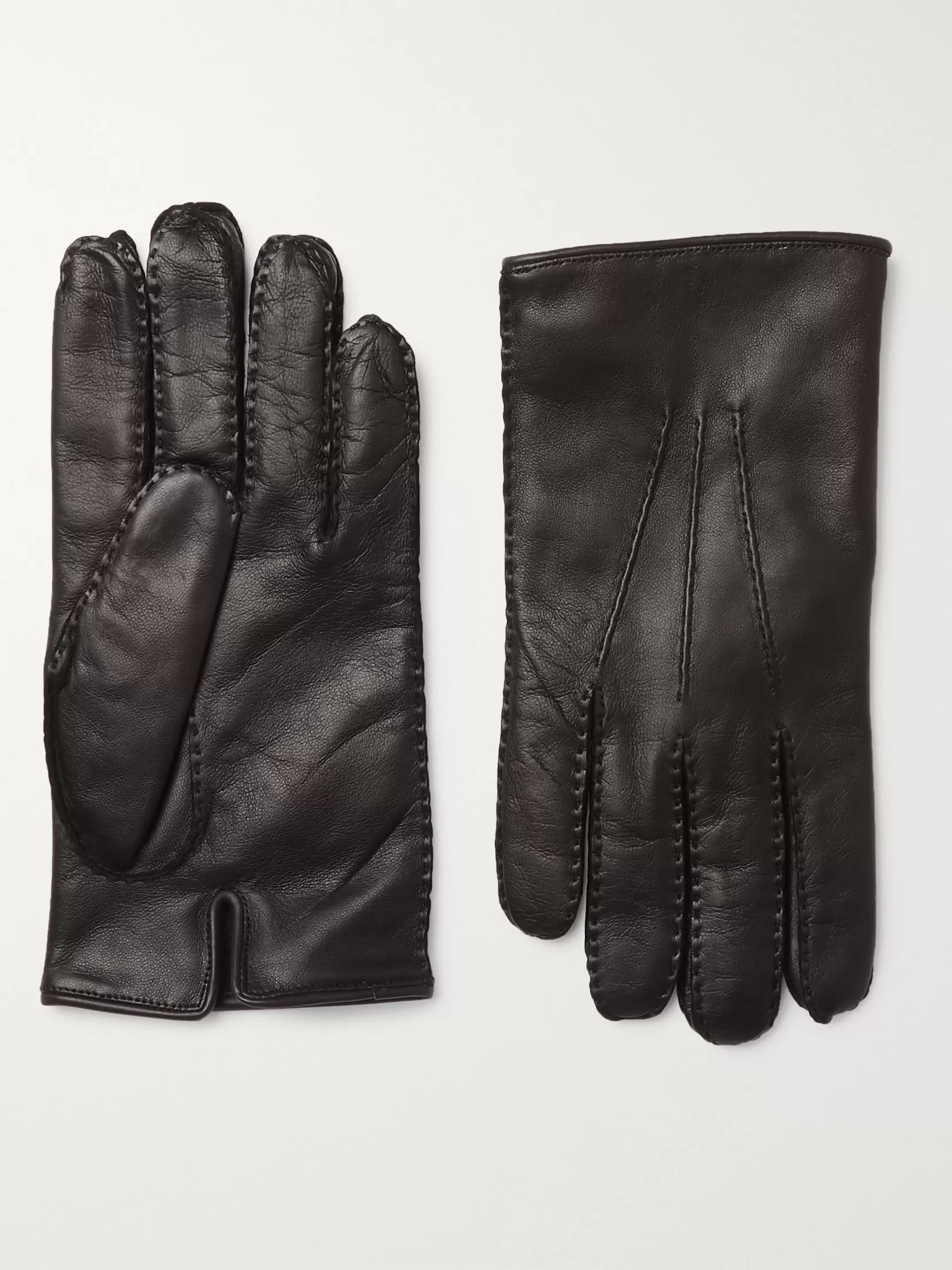 Ermenegildo Zegna Leather Gloves