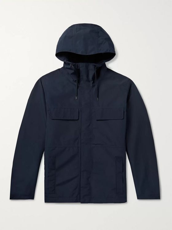 Incotex + nanamica GORE-TEX Hooded Jacket