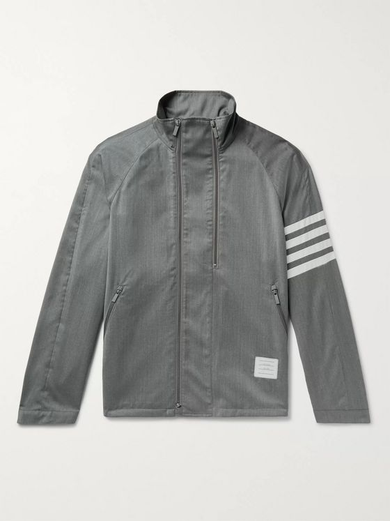 Thom Browne Striped Wool Jacket