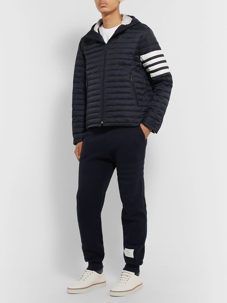 Thom Browne Striped Quilted Shell Down Jacket