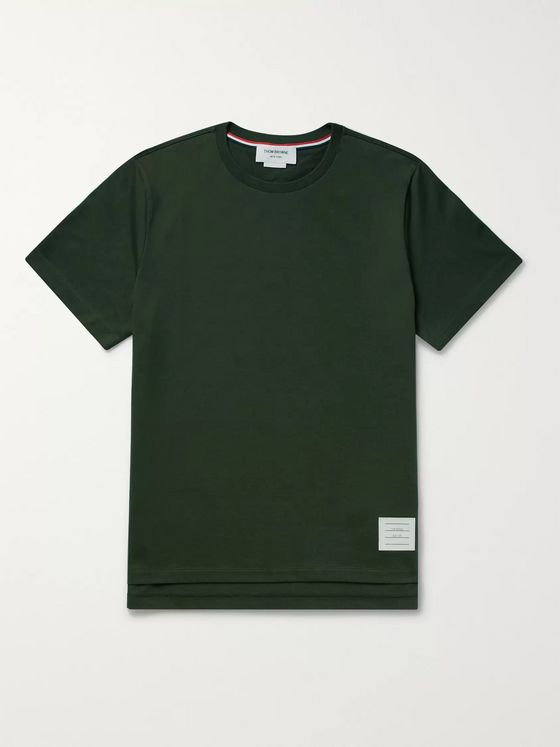 Thom Browne Cotton-Jersey T-Shirt