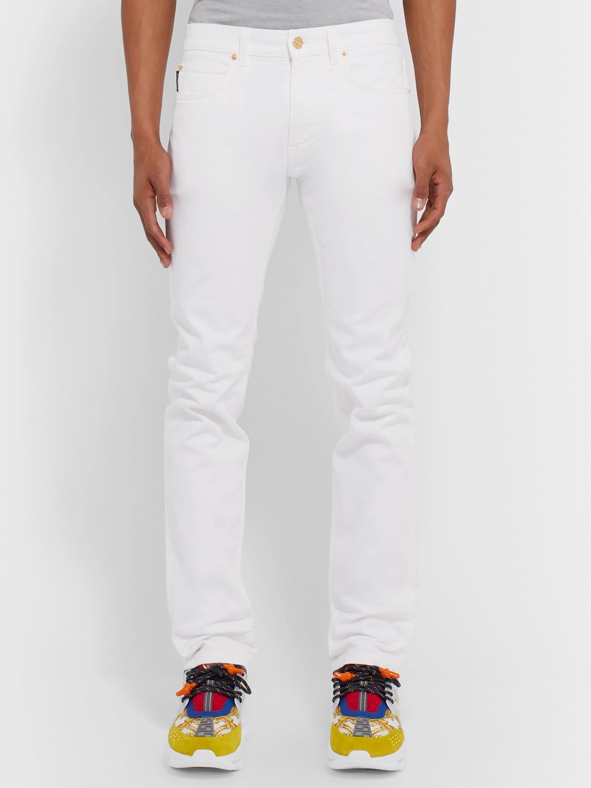 Versace Slim-Fit Denim Jeans
