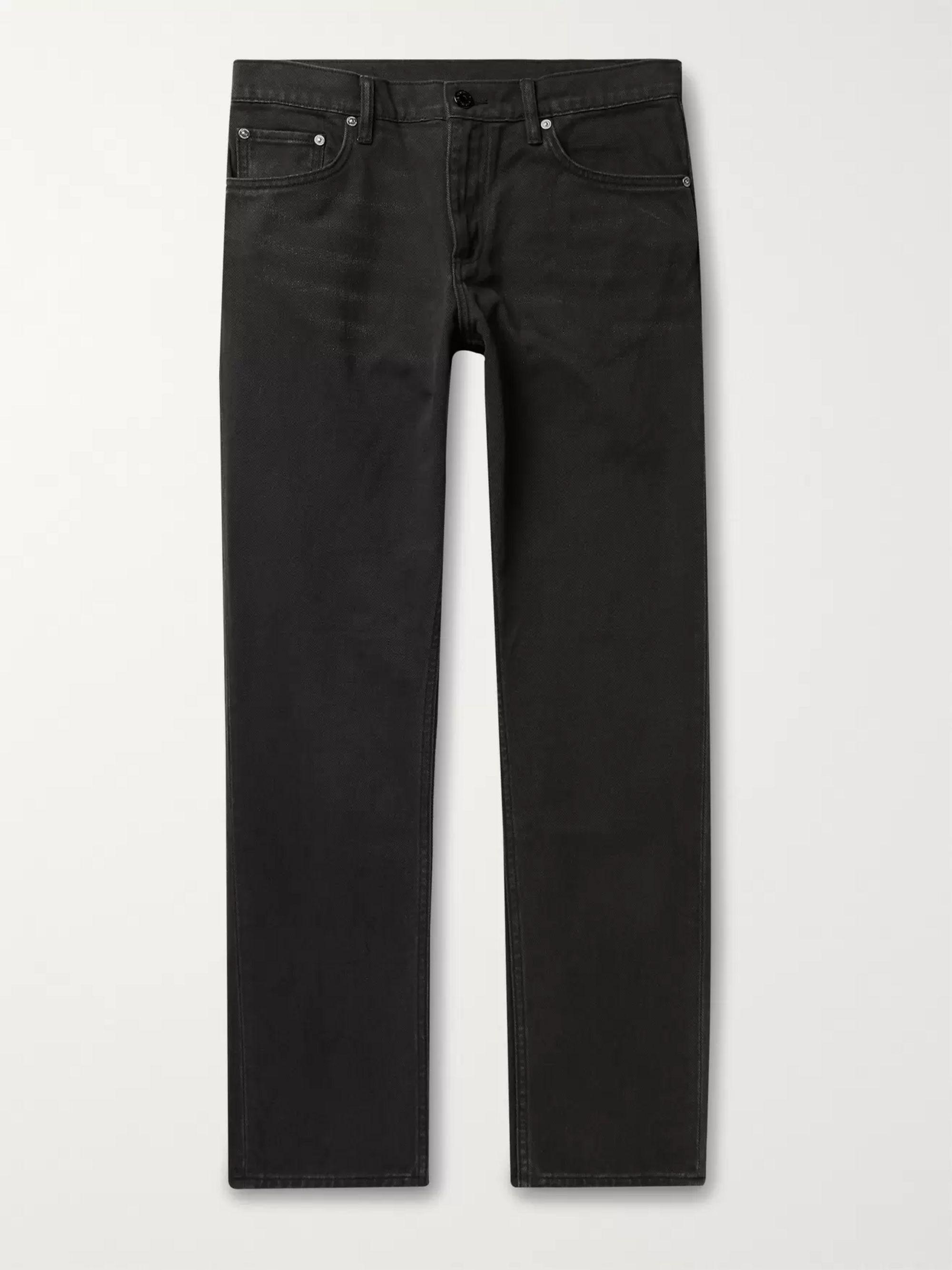 버버리 Burberry Black Denim Jeans,Black