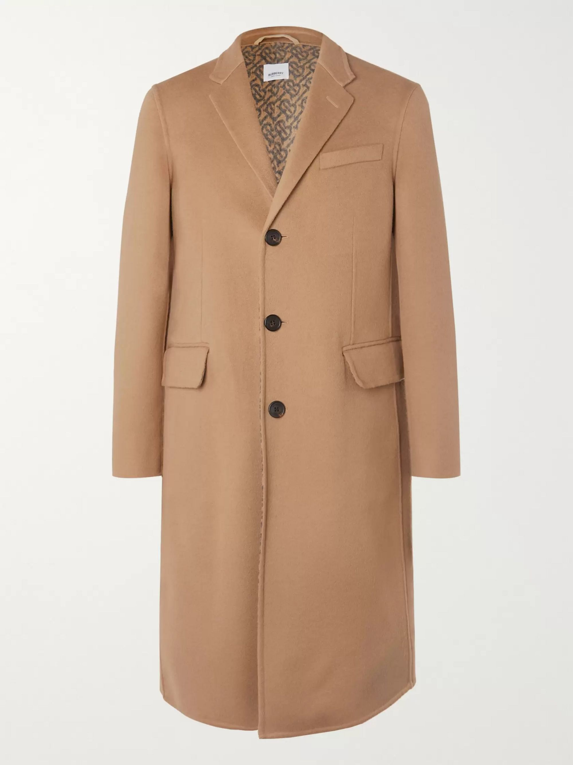 Burberry Wool Overcoat