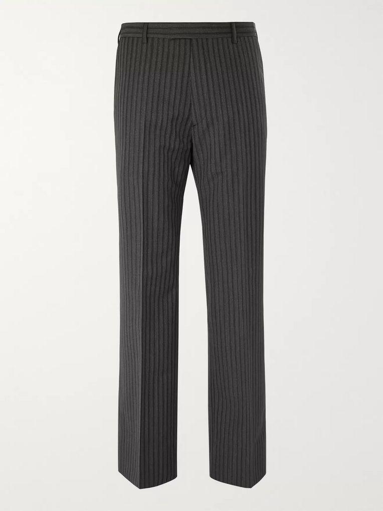 669b62a7d4989 Wide-Leg Pinstriped Virgin Wool and Mohair-Blend Trousers