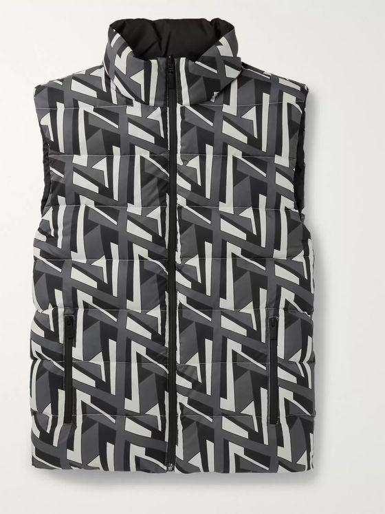 Fendi Reversible Quilted Shell Down Gilet