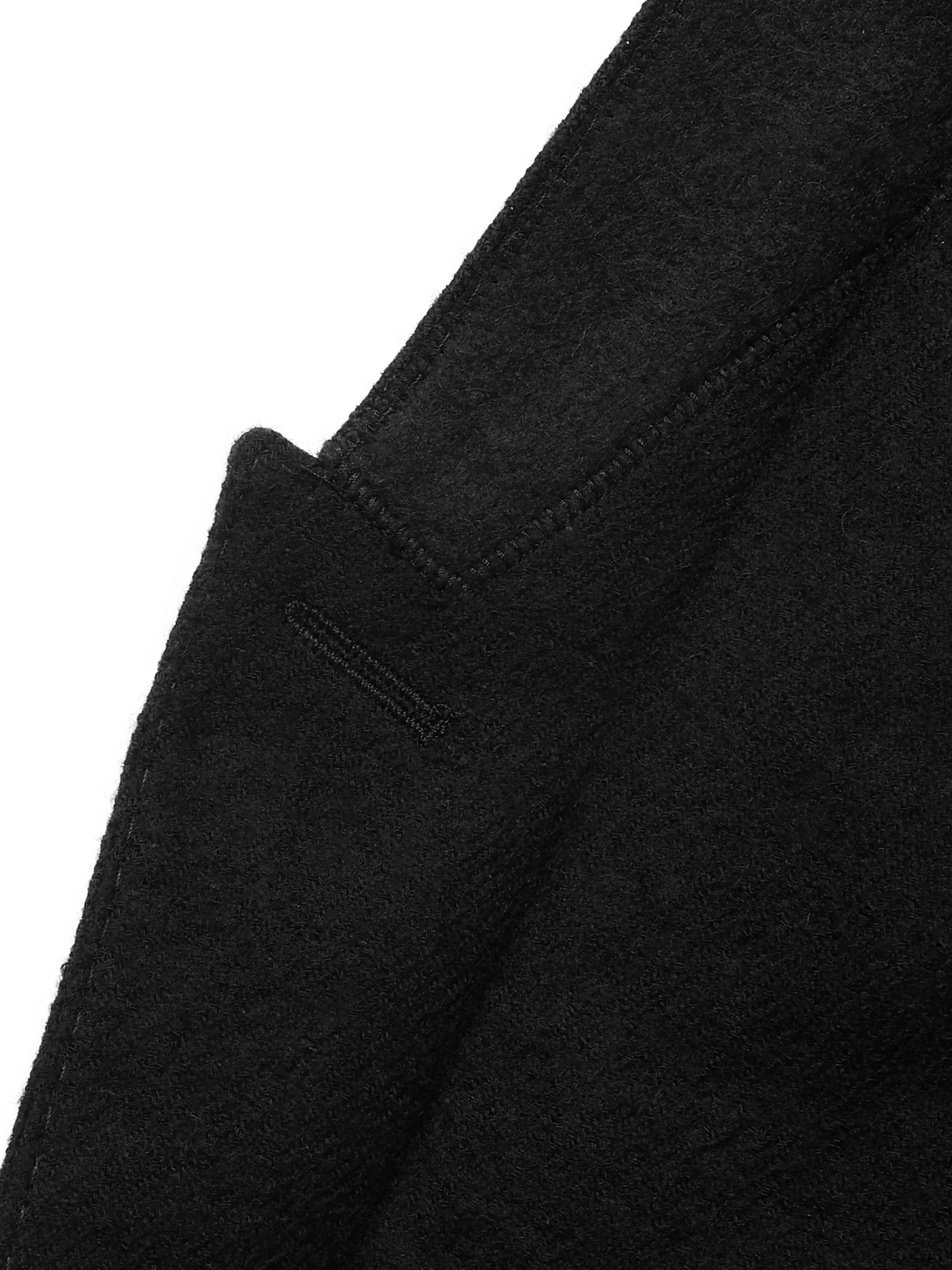 Rick Owens Appliquéd Virgin Wool Blazer