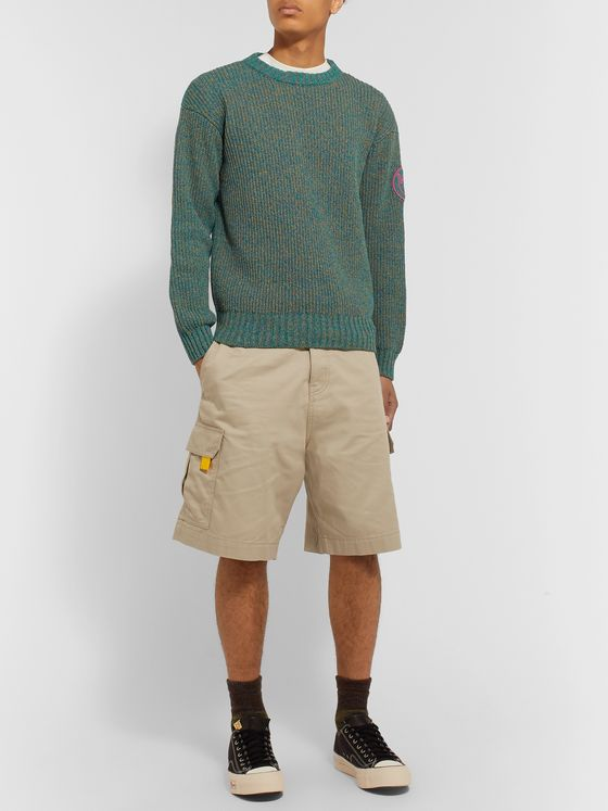 Loewe Eye/LOEWE/Nature Cotton-Twill Cargo Shorts