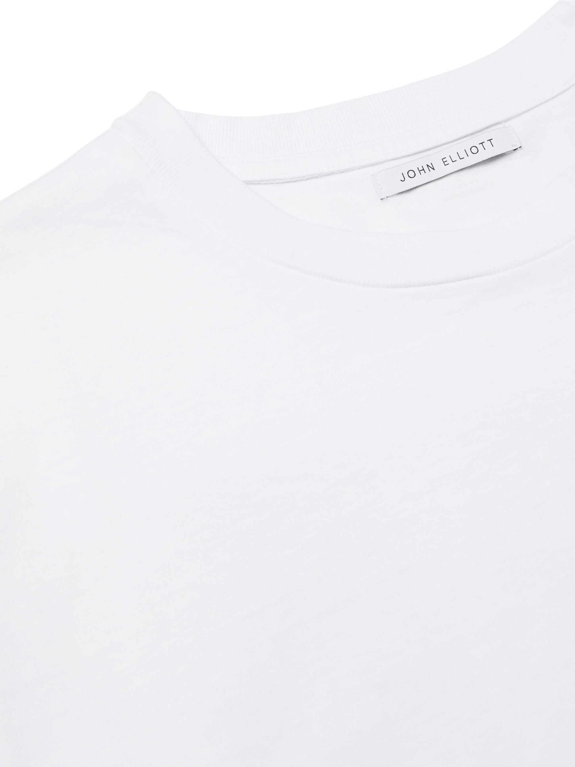 John Elliott Printed Cotton-Jersey T-shirt