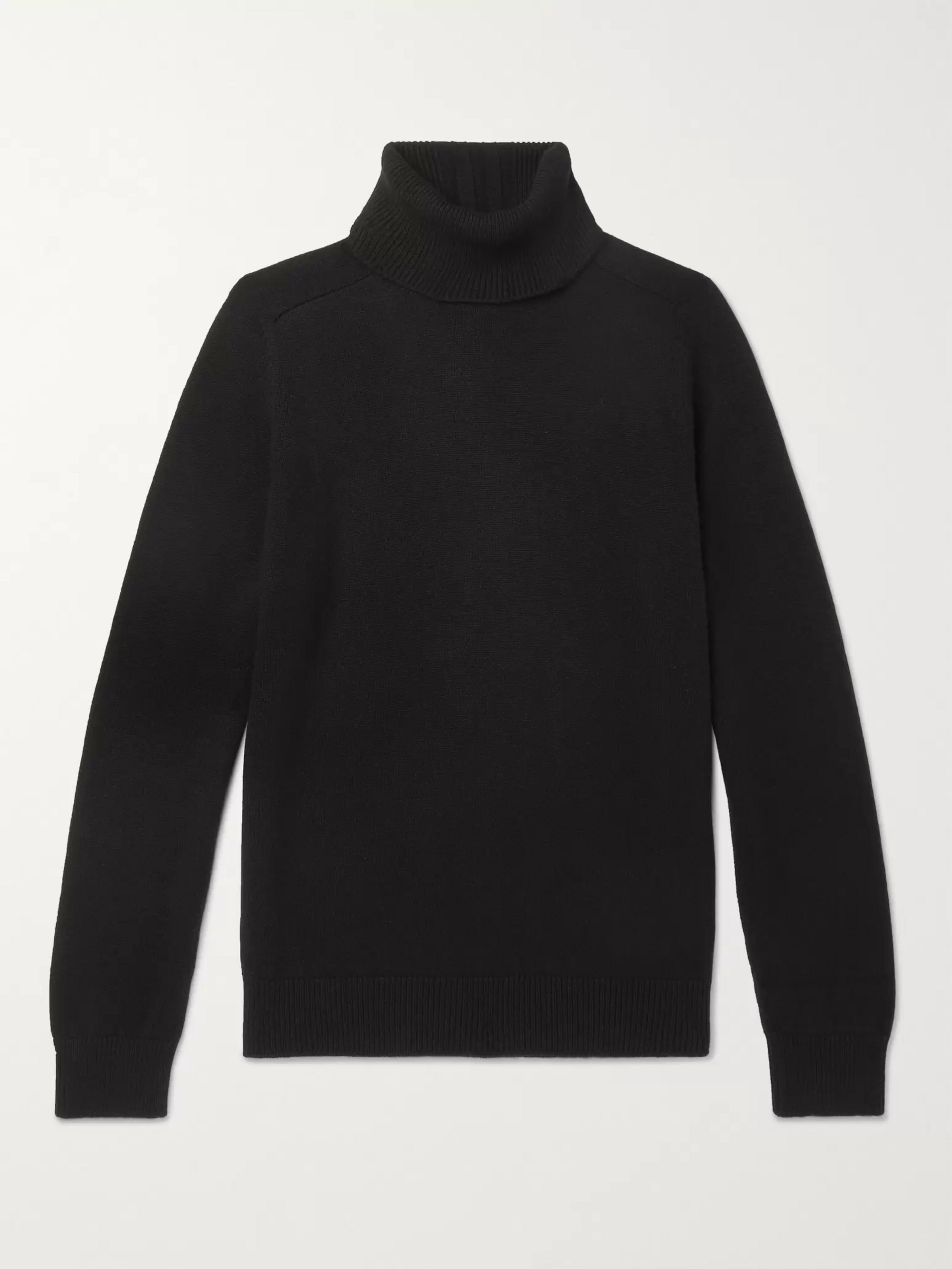 SAINT LAURENT Cashmere Rollneck Sweater