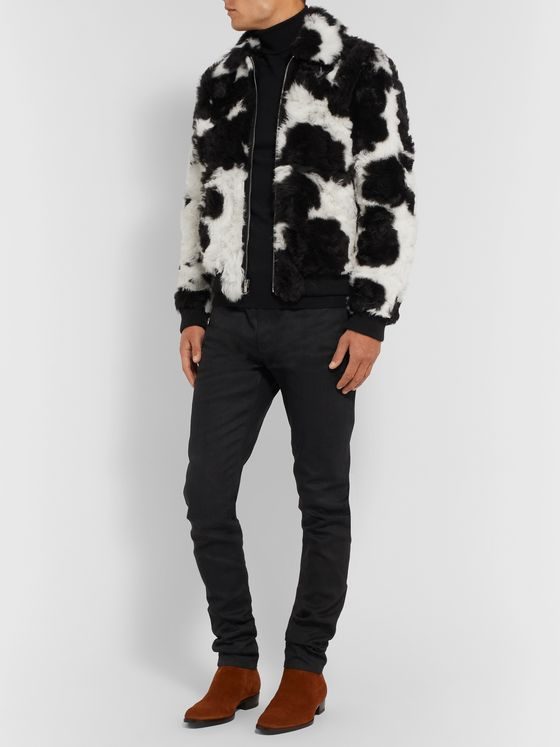 SAINT LAURENT Shearling Jacket