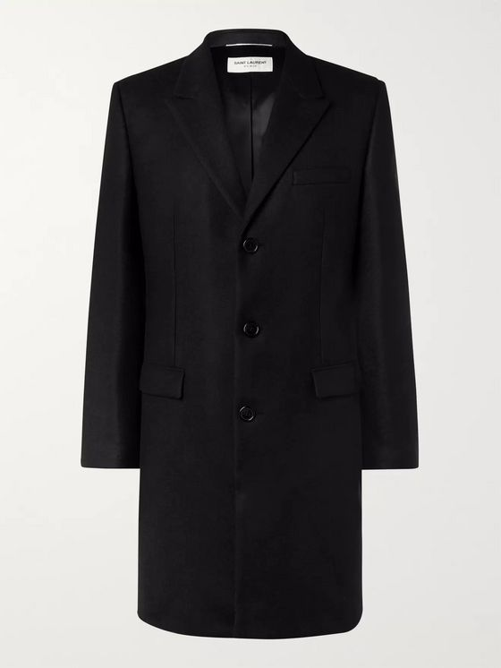SAINT LAURENT Wool Coat