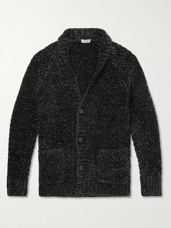 SAINT LAURENT Slim-Fit Lurex-Chenille Cardigan