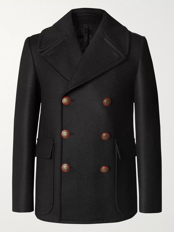Givenchy Wool Peacoat