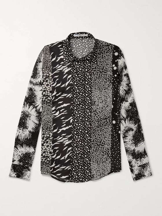 Givenchy Printed Silk-Twill Shirt
